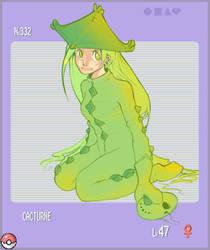 . PKMN Gijinka : Cacturne . by Nekodollz