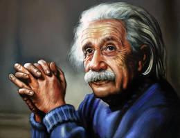 Albert Einstein by archemmy
