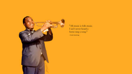 louis armstrong quote by primayoga