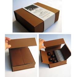 Chocolates pandora packaging by Yume-fran