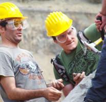 Geology Workers by coleg