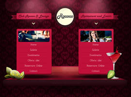 Rococo Landing Page by coleg