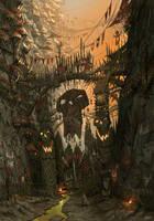 Karak-Eight-Peaks Gate by JonathanKirtz