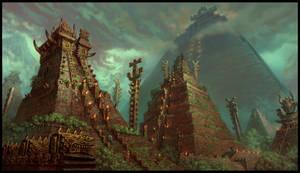 Temple City by JonathanKirtz