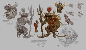 Goblin Squigherder T6 by JonathanKirtz