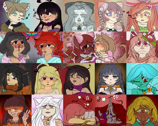 ToyHou'se icons (Discontinued) by AliceRandaLee