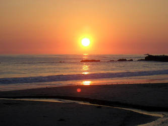 Laguna Beach sunset 1 by lilaviel