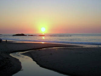 Laguna Beach sunset 2 by lilaviel
