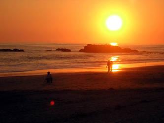 Laguna Beach sunset 3 by lilaviel