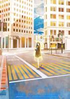 Station Story - crosswalk by kaninnvven