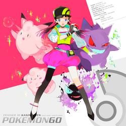 Pokemon Go! by kaninnvven