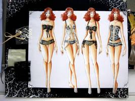 Fashion Work : Lingerie by rap1993