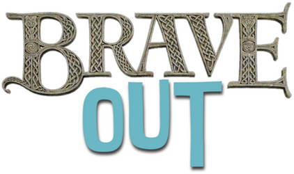 Brave Out Logo by Frie-Ice