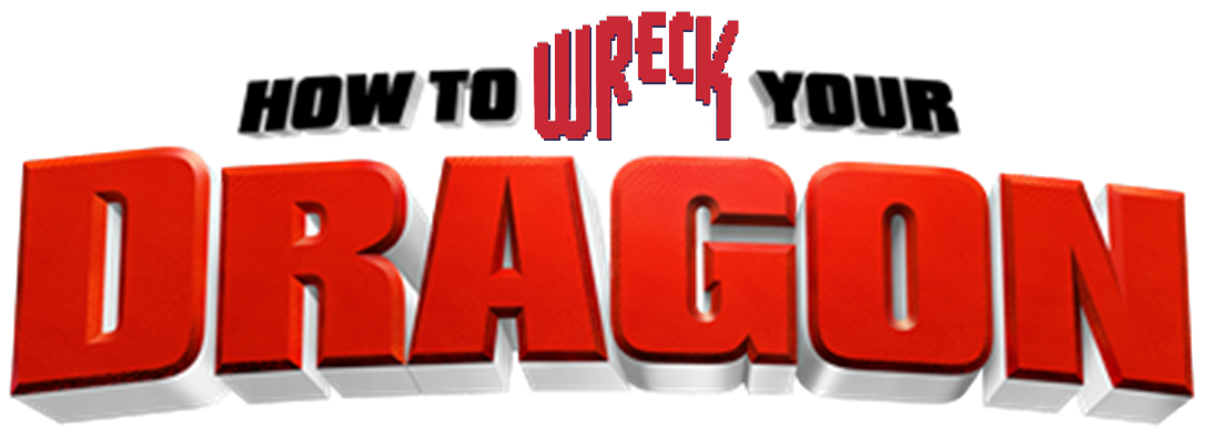 How to Wreck Your Dragon Logo by Frie-Ice