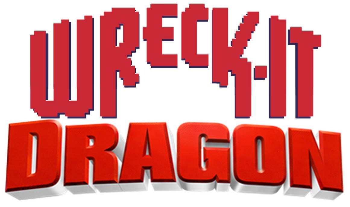 Wreck-It Dragon Logo by Frie-Ice