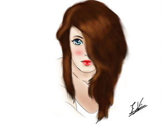 Hair Girl by ErikAcosta