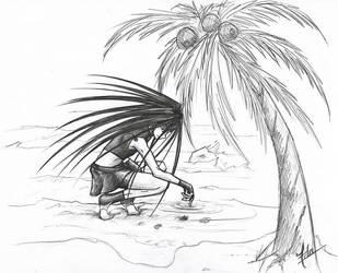 O' Palm Tree by FimbulvetrIce