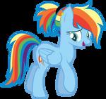 Shimmerverse Rainbow Dash (Commission) by RazorBladetheUnicron