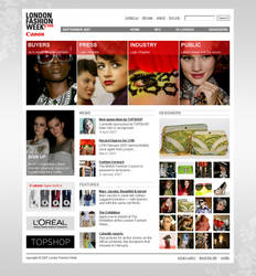 London Fashion week home 2007 by Excitera