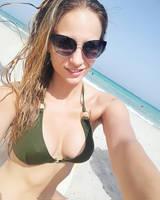 Beach July Selfie by Viktooriaa