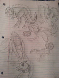 Marvel/DC: Being Controlled doodle by NightShade2K16