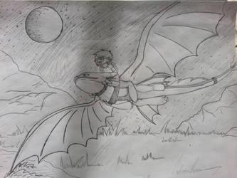 Dragon Whisper: Moonlight Flight by NightShade2K16
