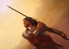 Oberyn Martell by LevonJihanian