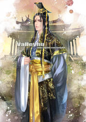 An emperor of China by valleyhu
