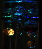 Blue Jellies by ciseaux