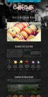 CaffeCaffe Muse Template by ciseaux
