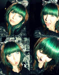 green hair by chanelle-evie
