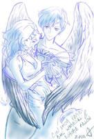 Uranus+Neptune by ZodaFalcon