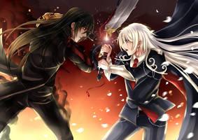 CR our battle begin by KurosakiSasori-kun