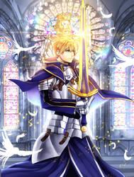 Arthur Pendragon FGO by KurosakiSasori-kun