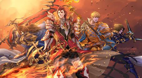 GBF - The Dragon Knights by KurosakiSasori-kun