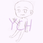 chibi YCH [ 02/10 slots ] 20 ponts OPEN by musicnotedraws