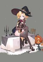 halloween ~~mercy by Fbsrabbit