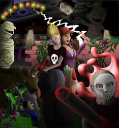 Zombies Ate My Neighbors by daemon37