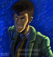 Lupin III: Yasuo as Green by BanishedPrince