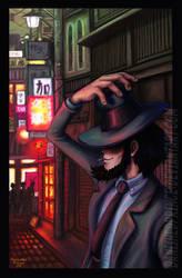 Daisuke Jigen in Nakano by BanishedPrince