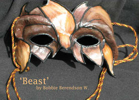 Beast Mask by MetallicVisions