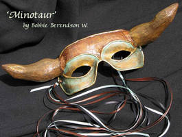 Minotaur Mask by MetallicVisions
