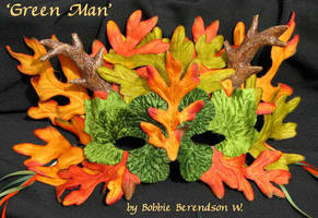 Green Man by MetallicVisions