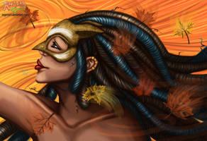 Fall Spirit by AngoraART