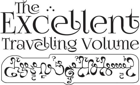 Logo Design - The Excellent Travelling Volume by PenetraliaPress