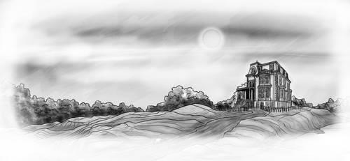 Spookeh House by PenetraliaPress