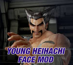 044 Young Heihachi Face Mod by 9876789