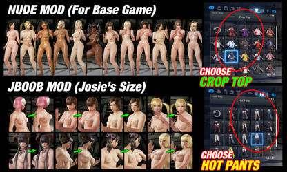 050 Nude Mods / Jboobs (NEW SKIN PATCH) by 9876789