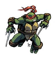 TMNT Raphael by hugohugo