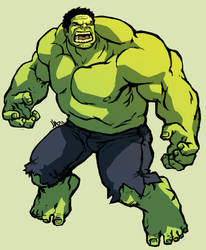 the hulk by hugohugo